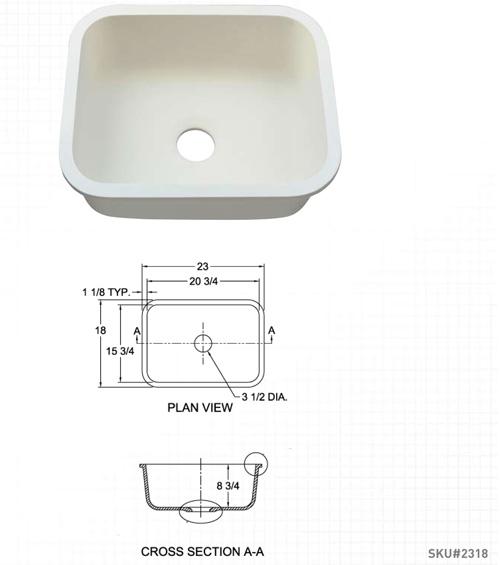 Single Sink 2318