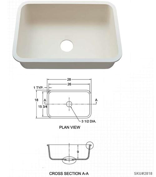 Single Sink 2818